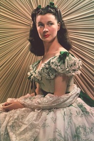 Vivien Leigh as Scarlet O'Hara in Gone with the Wind movieloversreviews.blogspot.com