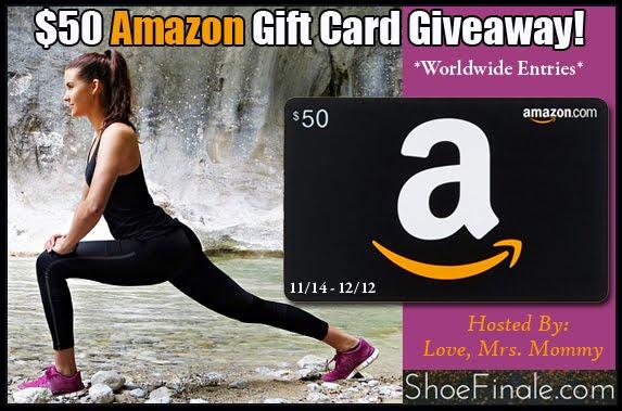 $50 Amazon Gift Card