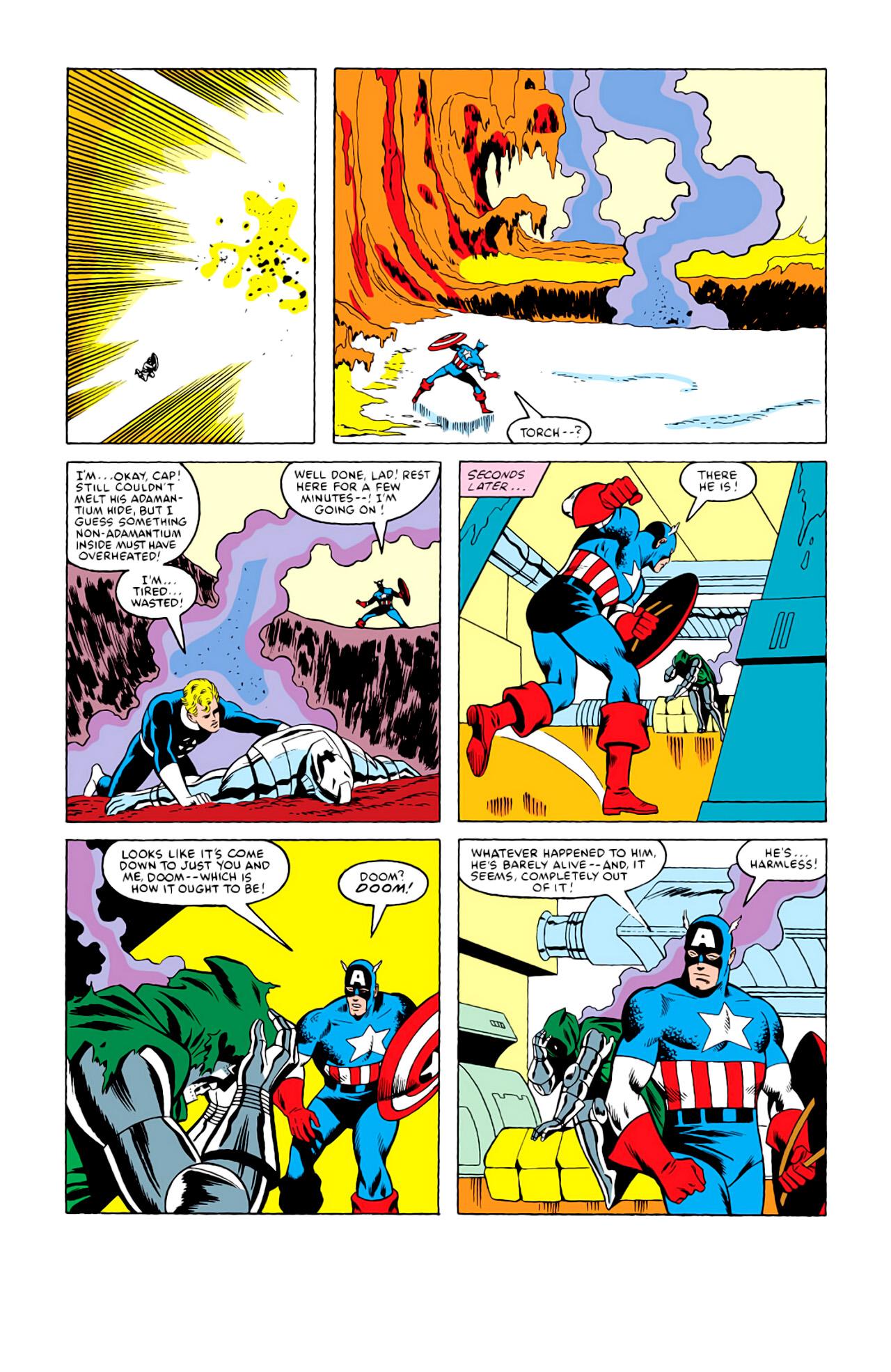 Captain America (1968) Issue #292i #216 - English 19