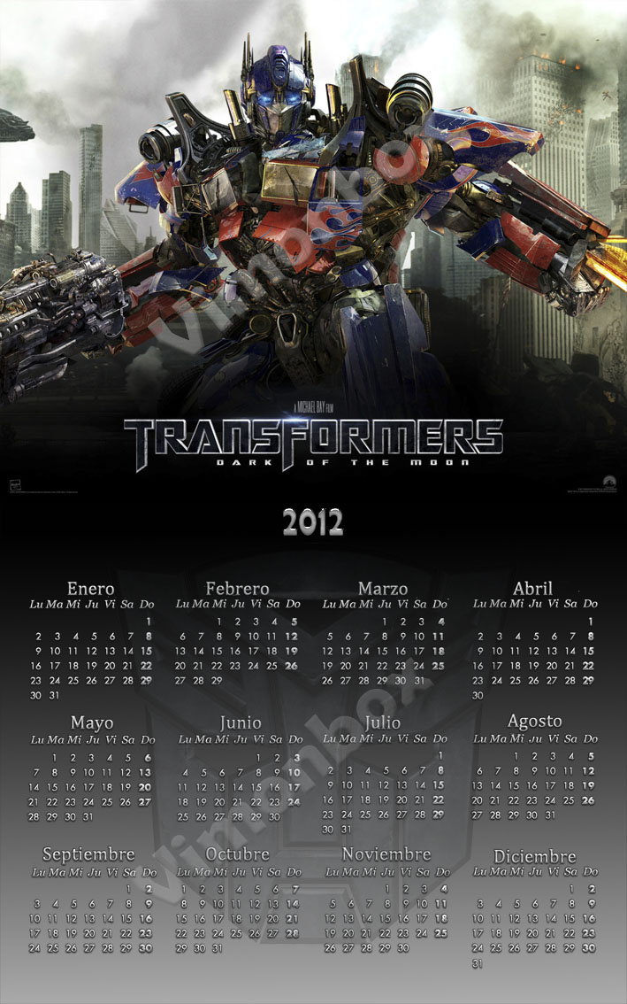 Transformers 2012