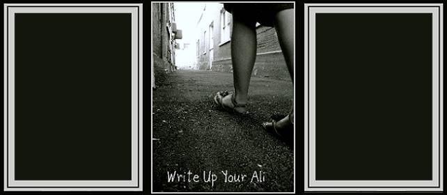 Write Up Your Ali