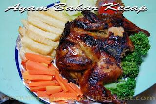 Cara Membuat Ayam Bakar Kecap Enak dan Gurih