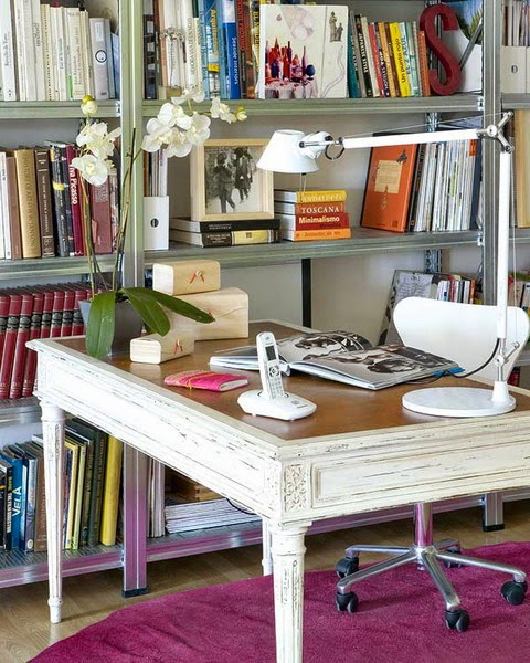 Eye for design office designs for the work from home woman Classic home office design ideas