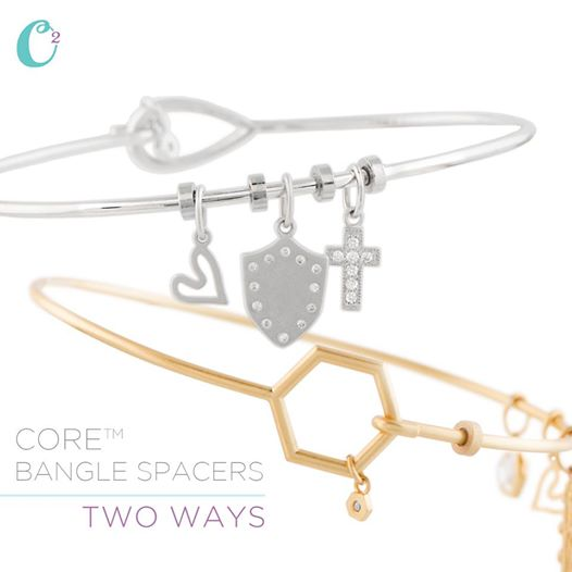 Origami Owl Core Bangle Bracelet Spacers | Shop StoriedCharms.com