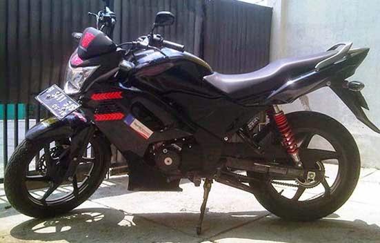 kumpulan modifikasi motor honda verza 150 cw