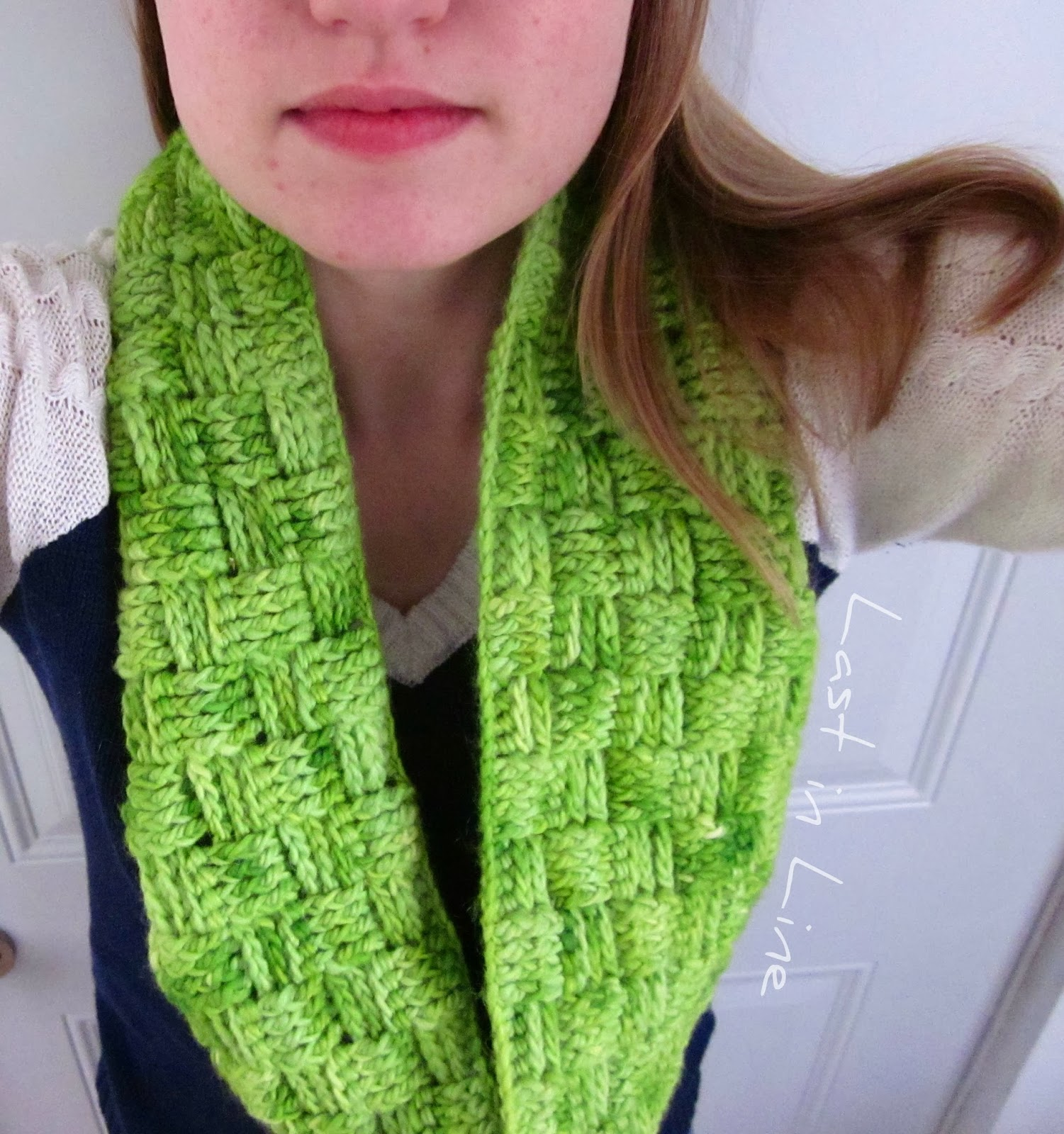 Crocheted Basket Weave Cowl by Forever Last in Line