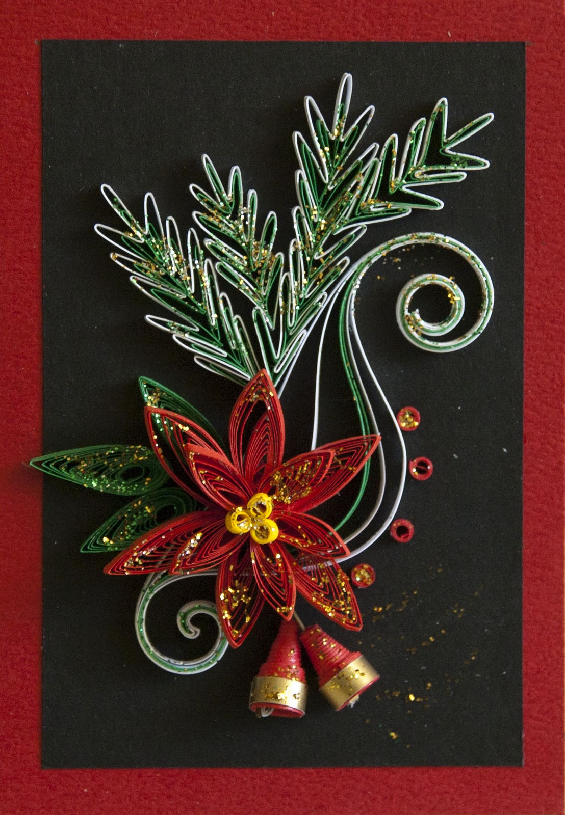 Neli Quilling Art Quilling Cards Christmas