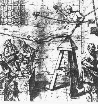 elementos de tortura de la inquisicion: