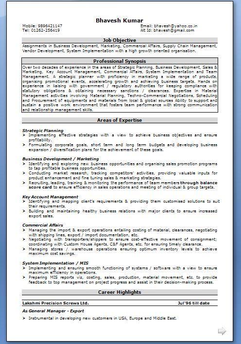 Resume builder canadian government