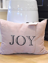 Christmas JOY Pillows