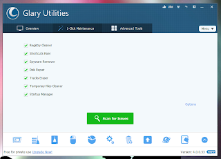 Two Software To Keep Your Computer Fast, Clean And Safe-Glary Utilities