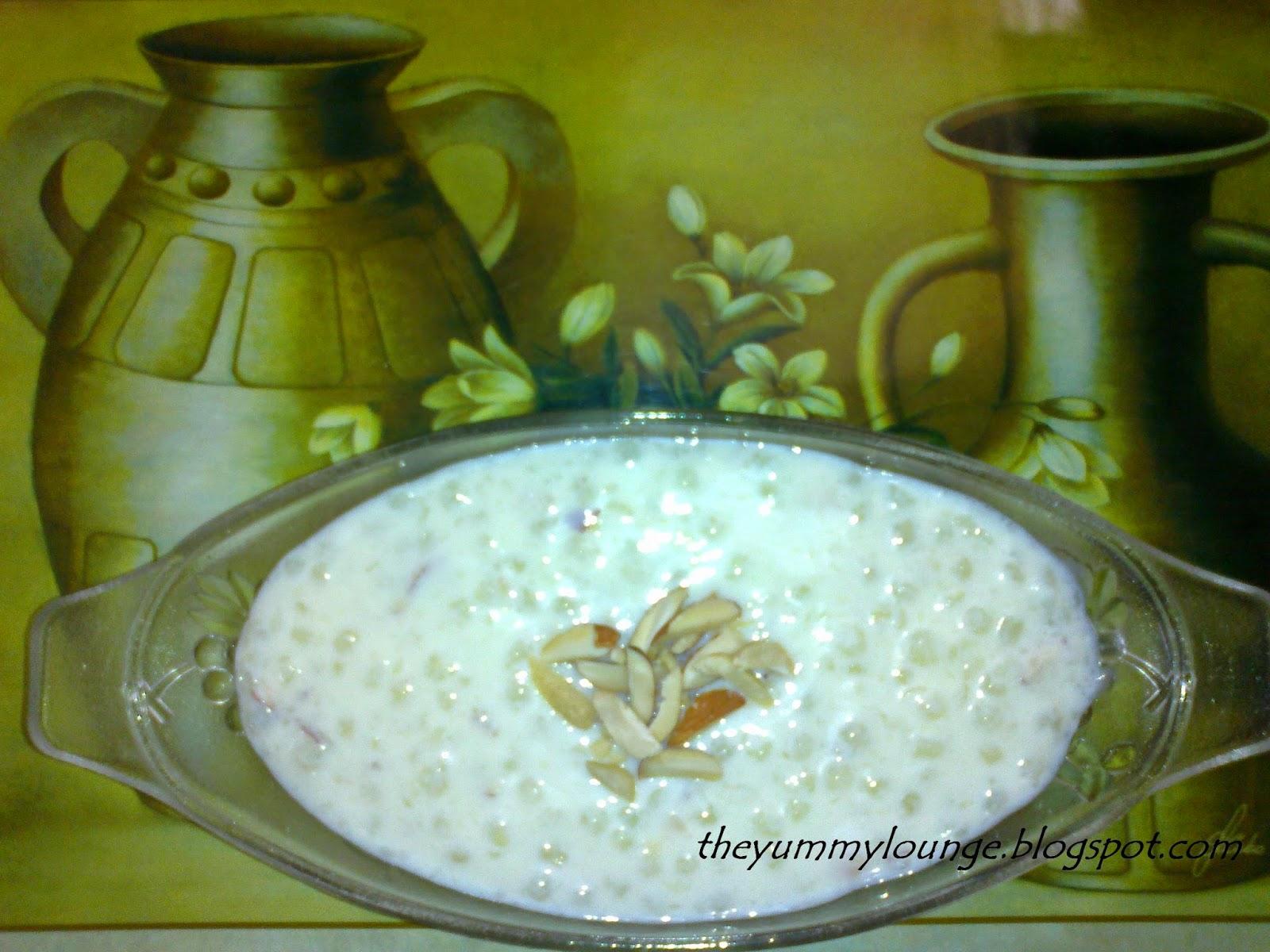 Sabudana Khir Recipe