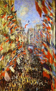 Rue Montorgueil. Bastille Day!