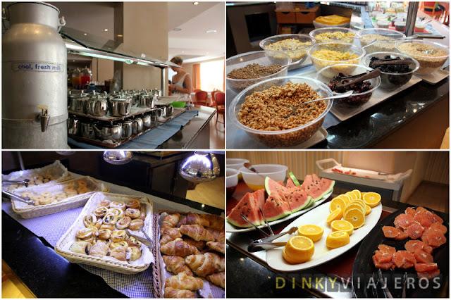 Hotel Grupotel Orient. Desayuno