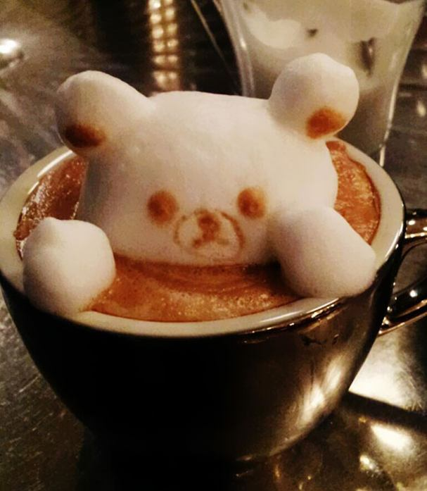 Osaka-based artist Kazuki Yamamoto offers you to take a little sip some of his art along with your latte: his 3D coffee foam sculptures made the guy famous worldwide in no time. After we first featured Kazuki and his 3D latte art, the artist presented some new an even more impressive sculptures: the one that got the most buzz, however, is the amazing melting clock, inspired by Salvador Dali's painting The Persistence of Memory.  Kazuki's first audience were the visitors of the Cafe10g in Osaka, where he worked, but after the international recognition the artist says he dreams of opening his own cafe in Tokyo. Can't wait to see the menu!