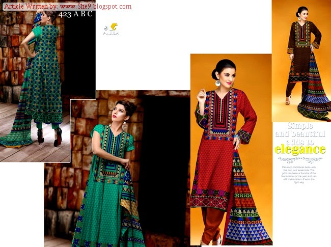 Pakistani Khaddar Dresses for Girls