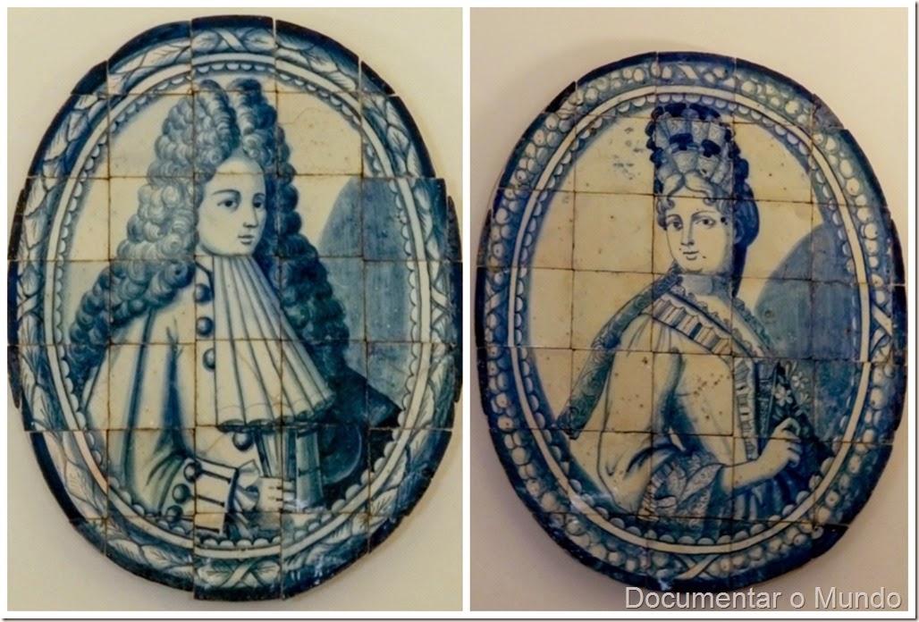 Marqueses de Minas; Palácio dos Marqueses de Minas; Azulejos Portugueses