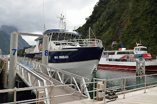 Real Journey's M.V. Sinbad on Milford Sound