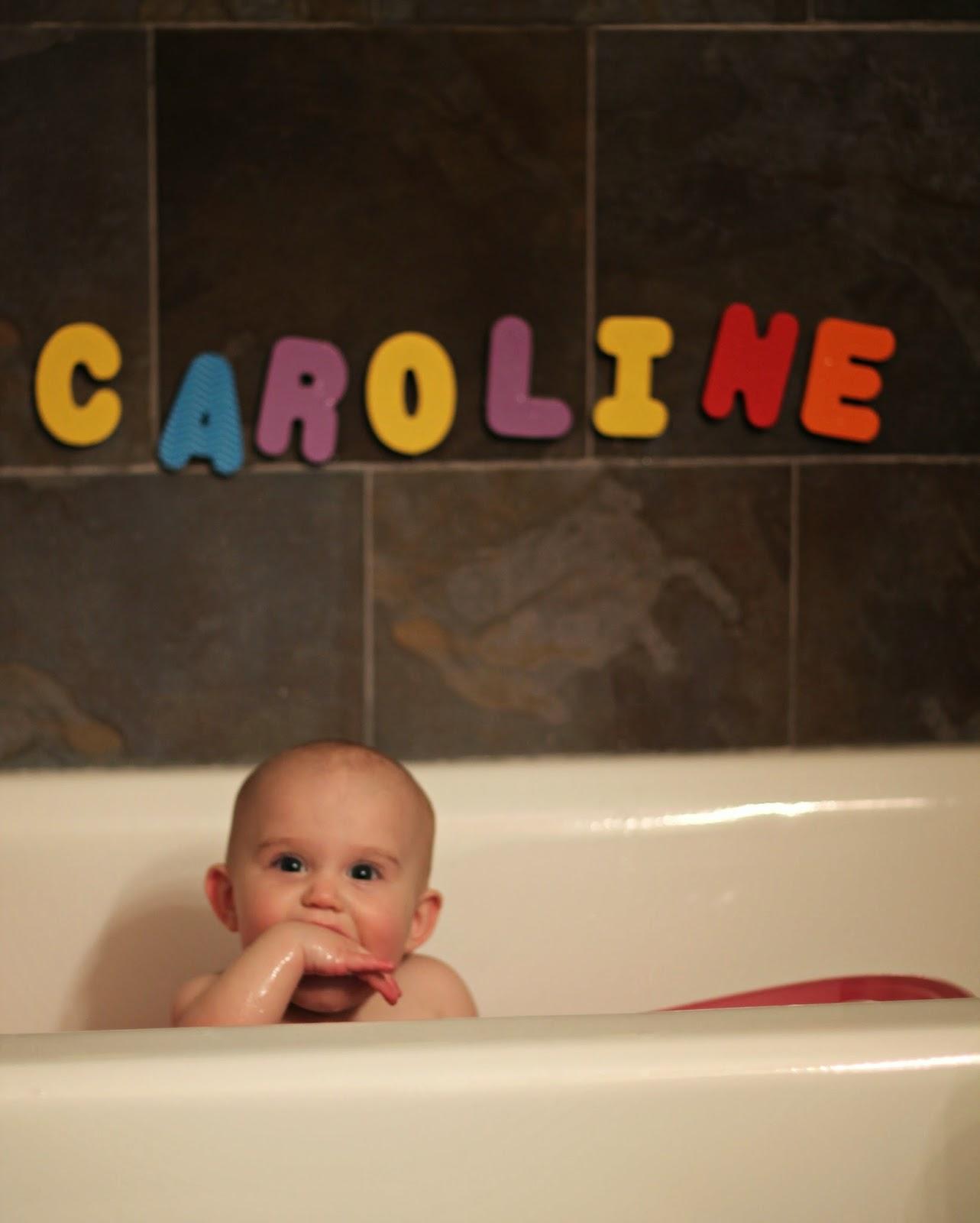 Caroline Grace {9 Months} - Carolina Charm