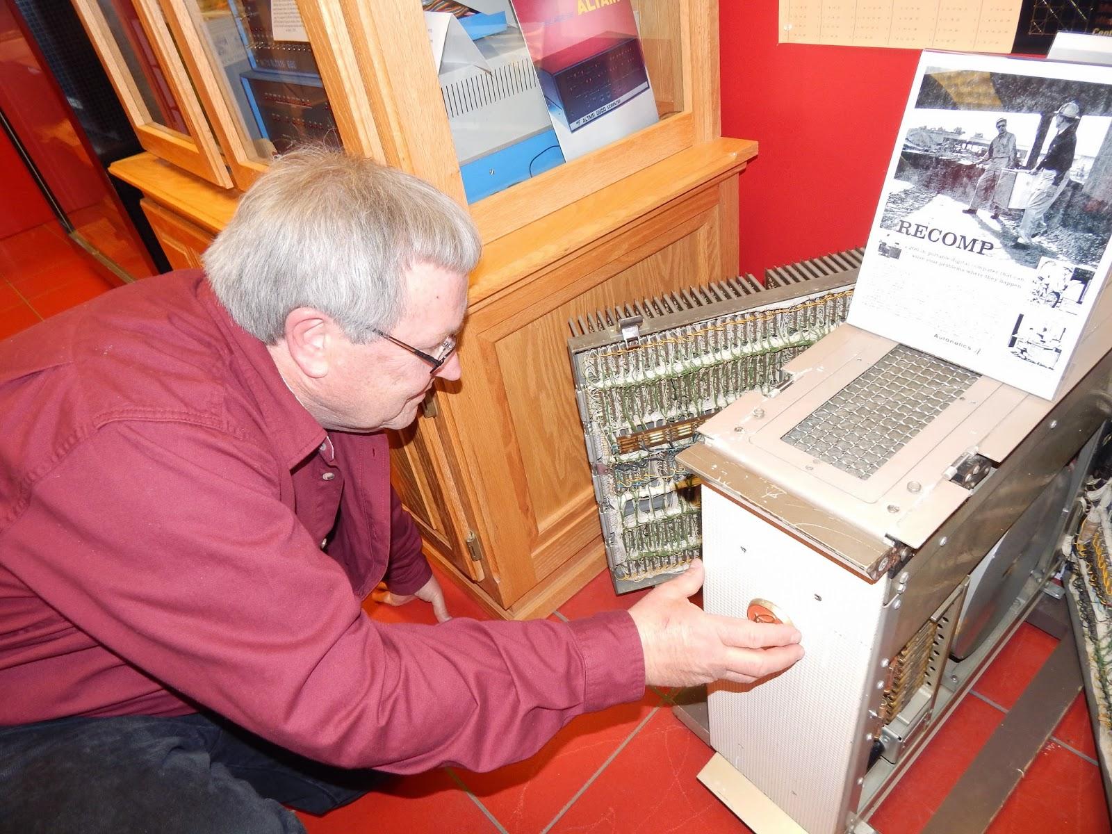 Autonetics 1958 transistor computer