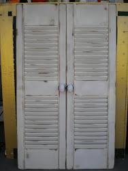 vintage shutter...SOLD