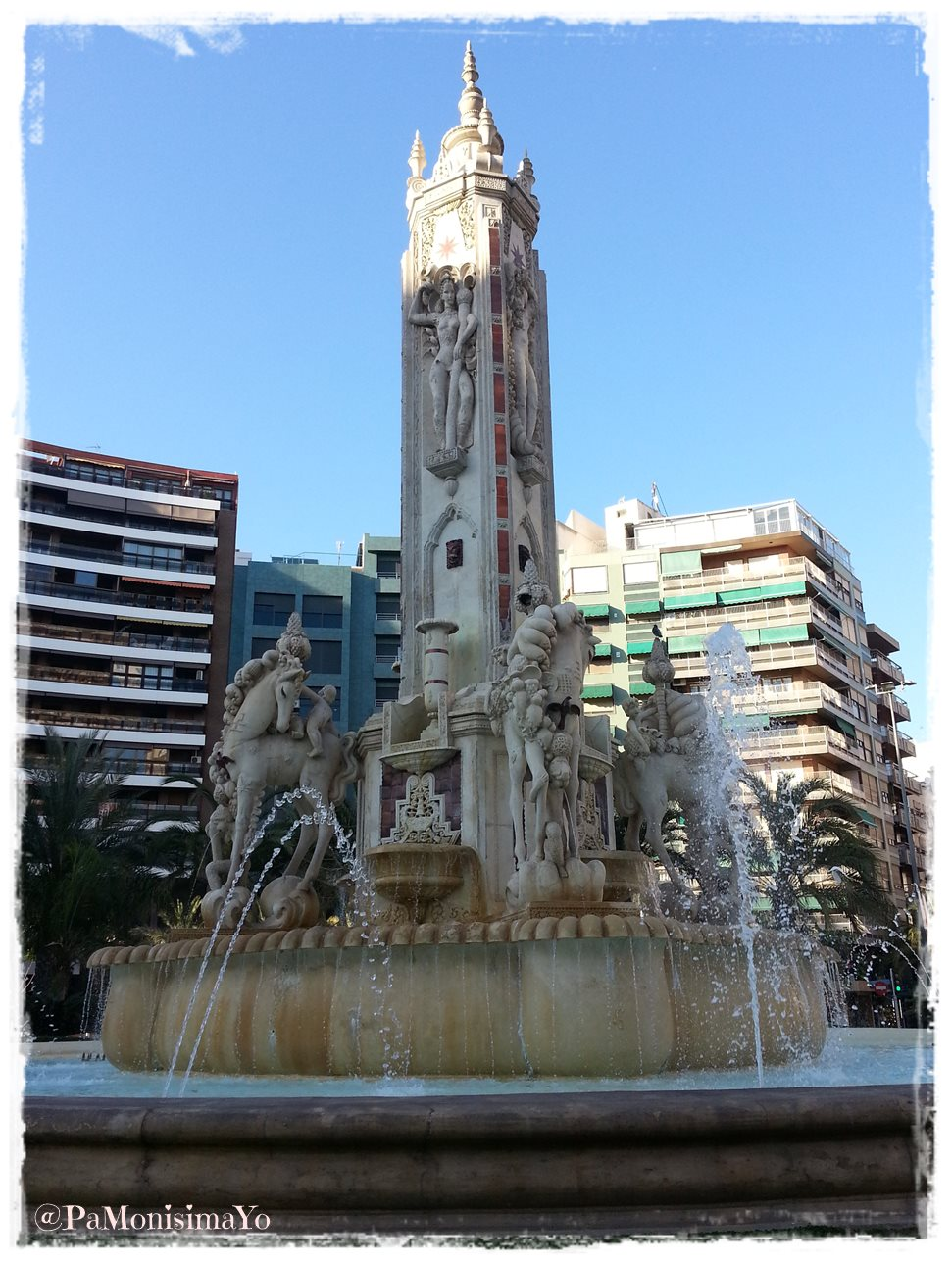 Fuente Luceros Alicante