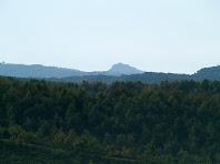 Vista del Tagamanent des del Castell de Taradell