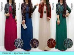 Gamis Spandex + Bolero Songket SOLD OUT