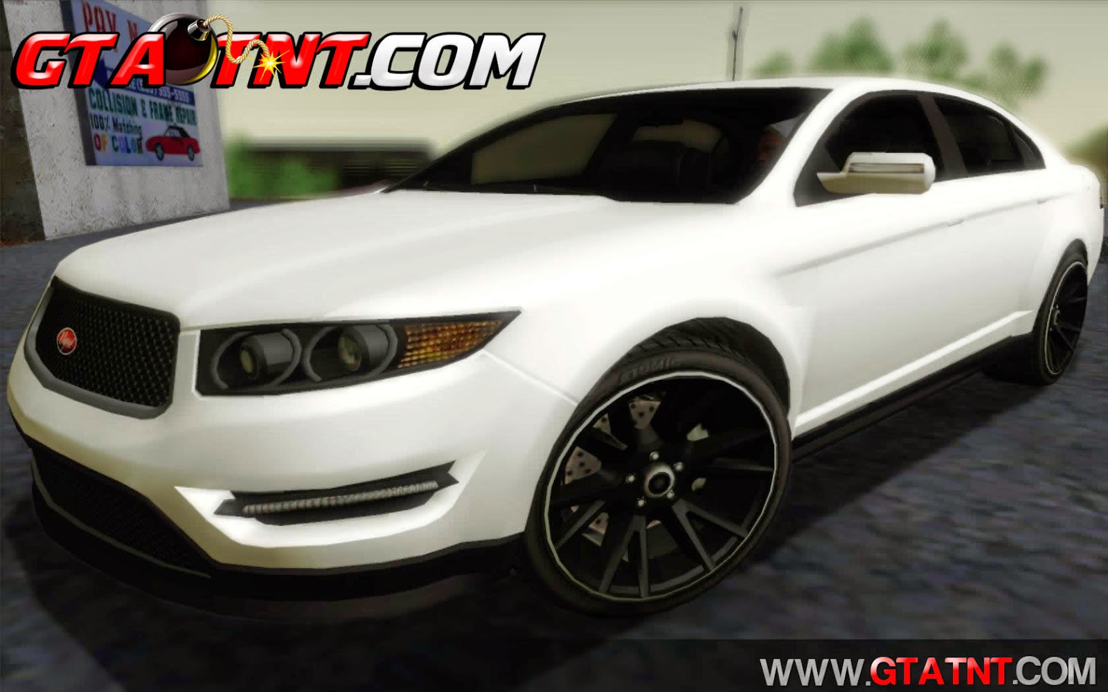 Vapid Interceptor Convertido do GTA V para GTA San Andreas