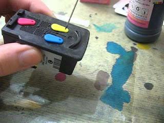 Cara Refill Tinta Printer Canon Pixma Melalui Catridge
