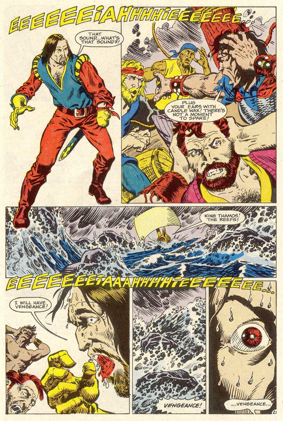 Conan the Barbarian (1970) Issue #186 #198 - English 23