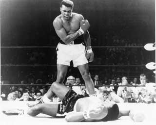 Like Ali beating Sonny Liston