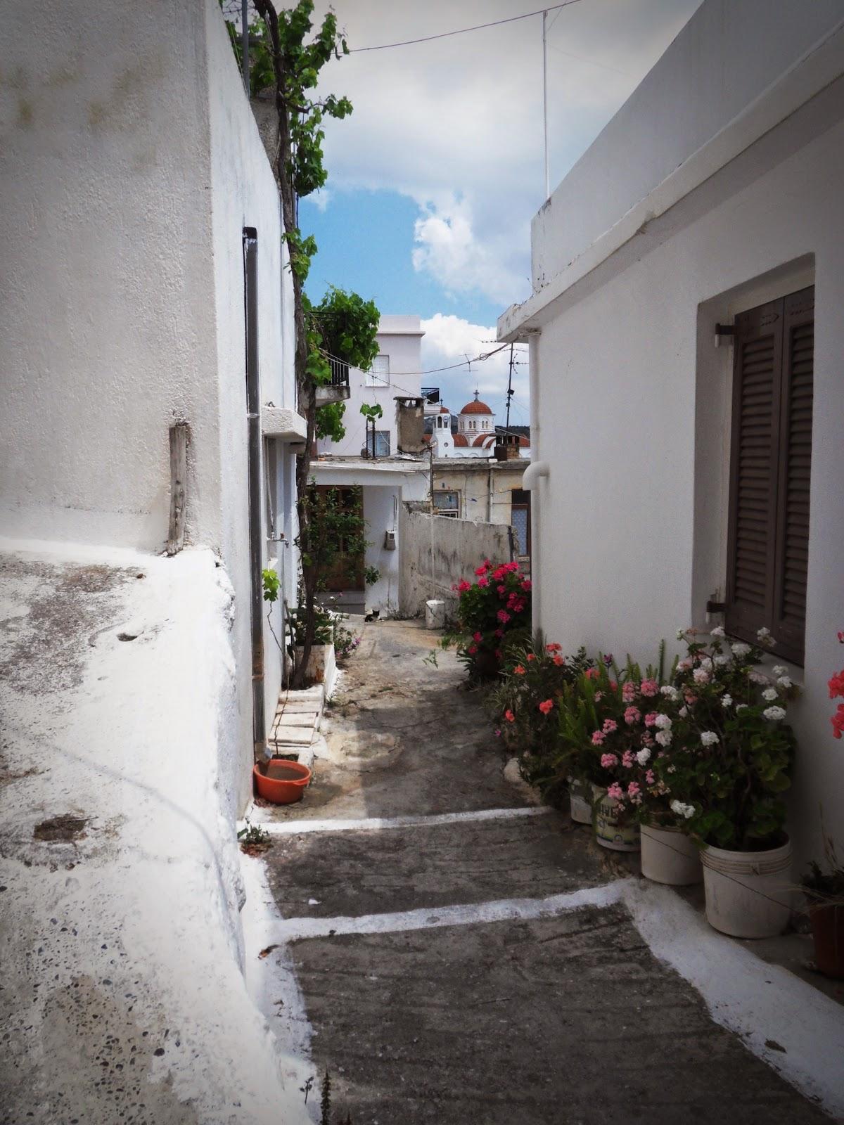 Crete mountain village