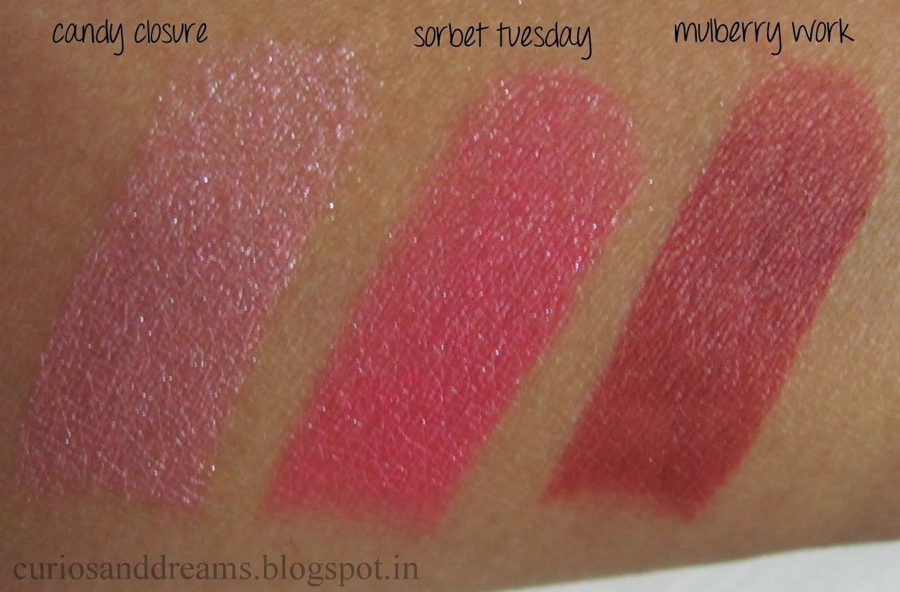 Lakme 9 to 5 Lipsticks