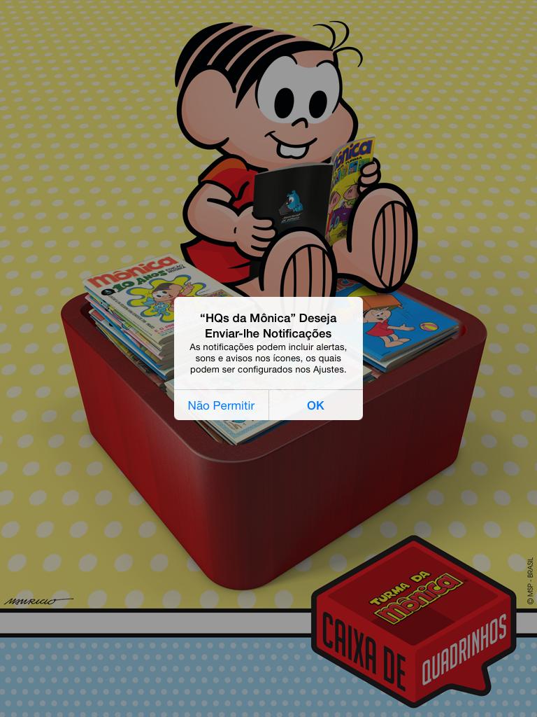 Pocket Hobby - www.pockethobby.com - #HobbyCartoon - Caixa de Quadrinhos App Capa
