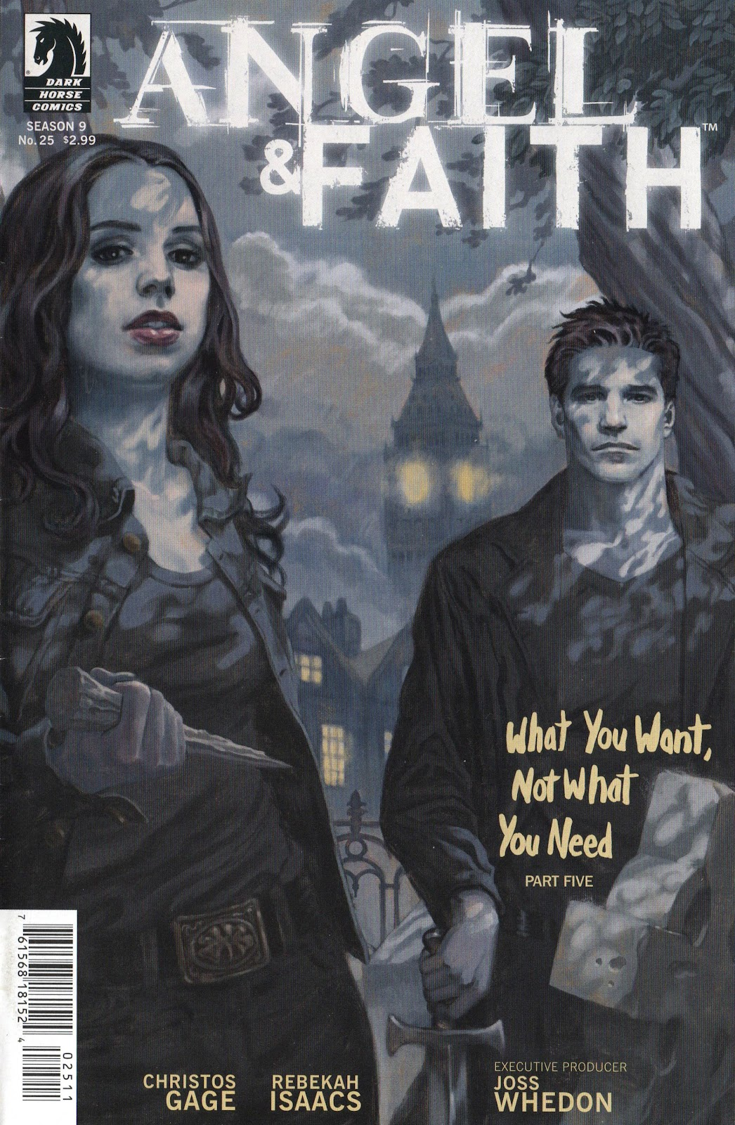 Angel and Faith issue 25 - Page 1