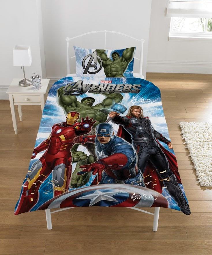 Avengers bedding single bed