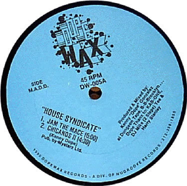 House syndicate jam the mase east van disco for Classic house grooves dope jams nyc