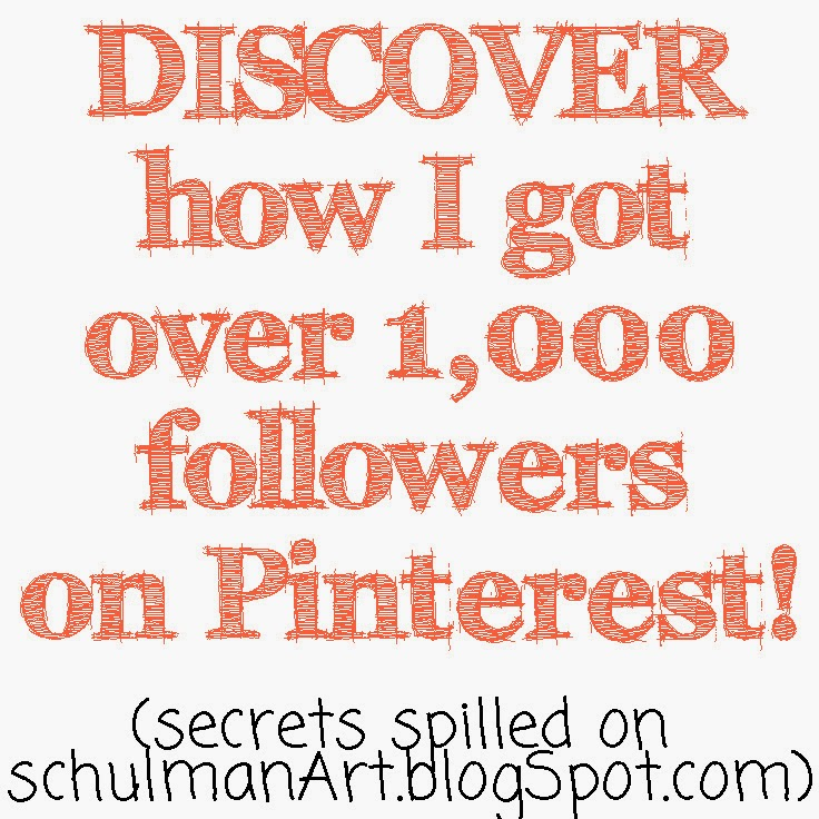 how to get more followers on pinterest | find out http://schulmanart.blogspot.com/2014/07/discover-how-i-got-over-1000-followers.html