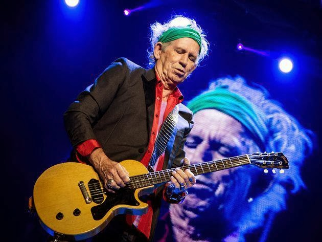 Keith Richards Writes Childrens Book With Daughter Theodora Gus Me The Story Of My Granddad And First Guitar