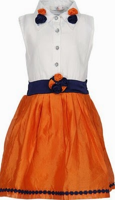 Via Italia Baby Girl's Gathered Dress buy at online