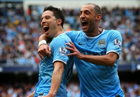 Hasil Skor Manchester City vs West Ham United