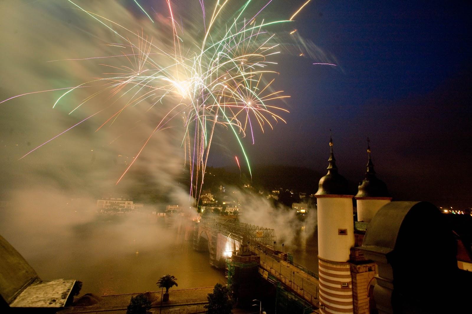 Heidelberg erleben: Heidelberger Schlossbeleuchtung