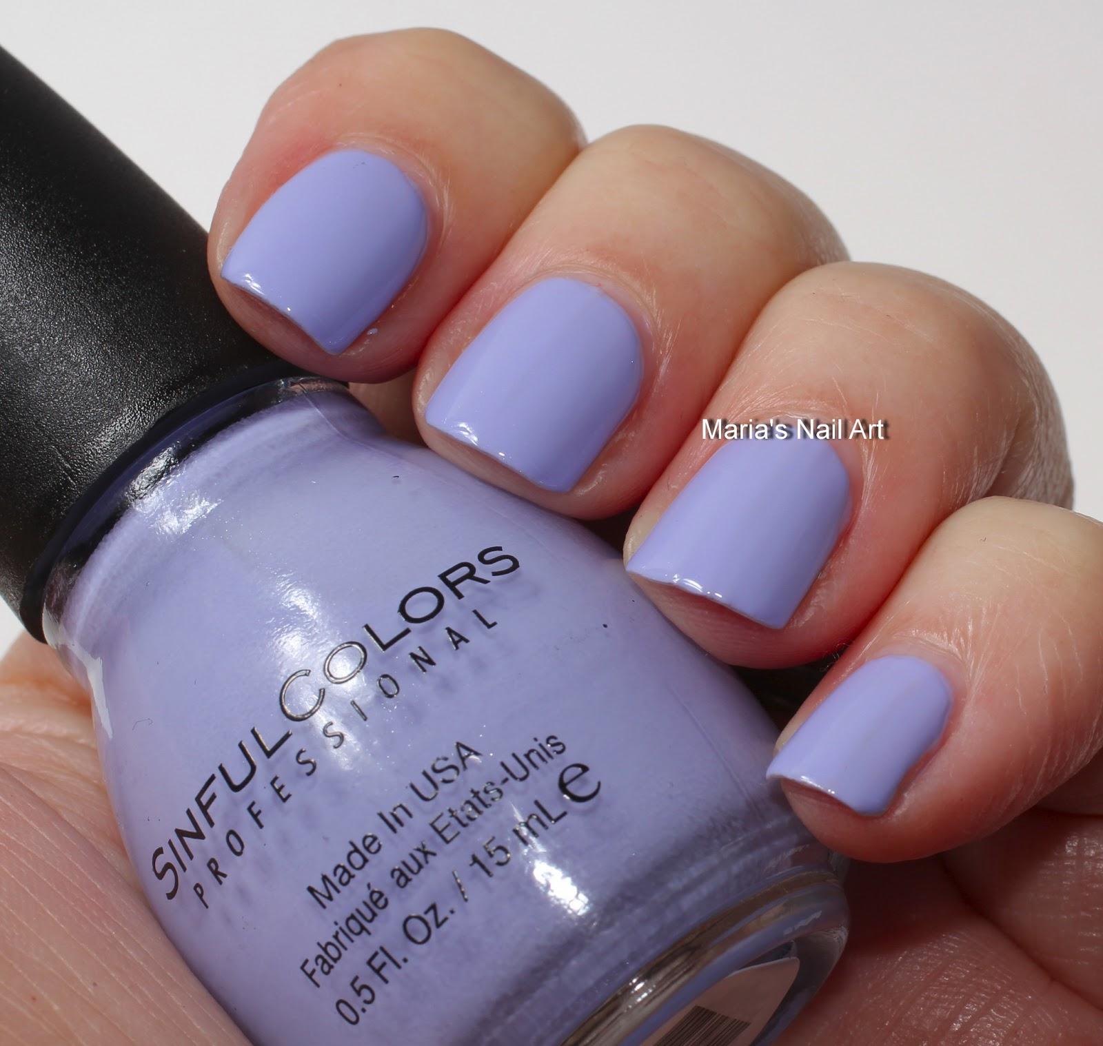 Sinful Cotton Candy Nail Polish: Marias Nail Art And Polish Blog: Sinful Colors Sugar Rush