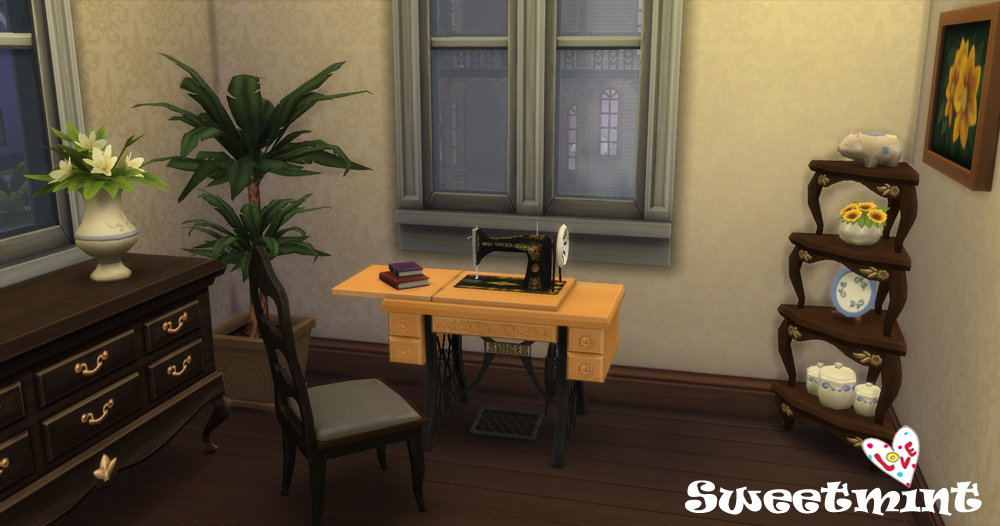 sims 3 sewing machine