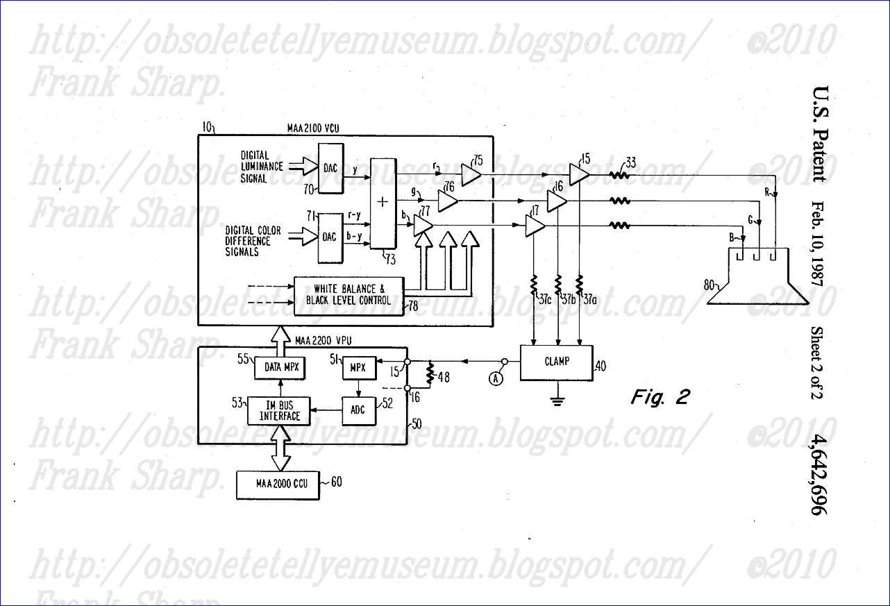 Obsolete Technology Tellye Itt Digivision 3447 Oscar Chassis Digi 2000 Correct Craft Wiring Diagram 3 110 Pip Crt Tube Sel A51eaf00x01