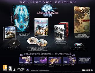 final fantasy xiv a realm reborn collectors edition Final Fantasy XIV: A Realm Reborn (PC/PS3)   Box Art, Collectors Edition, Trailer, & Release Date