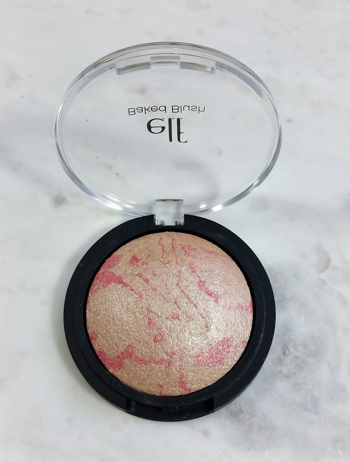 elf Baked Blush pinktastic Review & Swatches