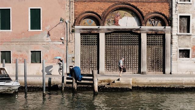 Turista giapponese a Murano, Venezia