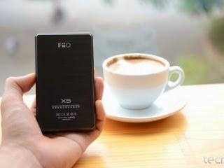 mặt sau Fiio X5